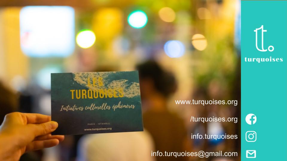 Agenda 'Turquoises'