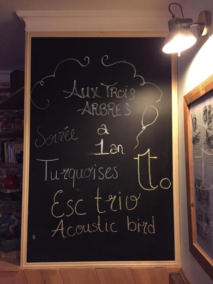ESC Trio et Acoustic Bird